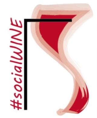 Logo social wine