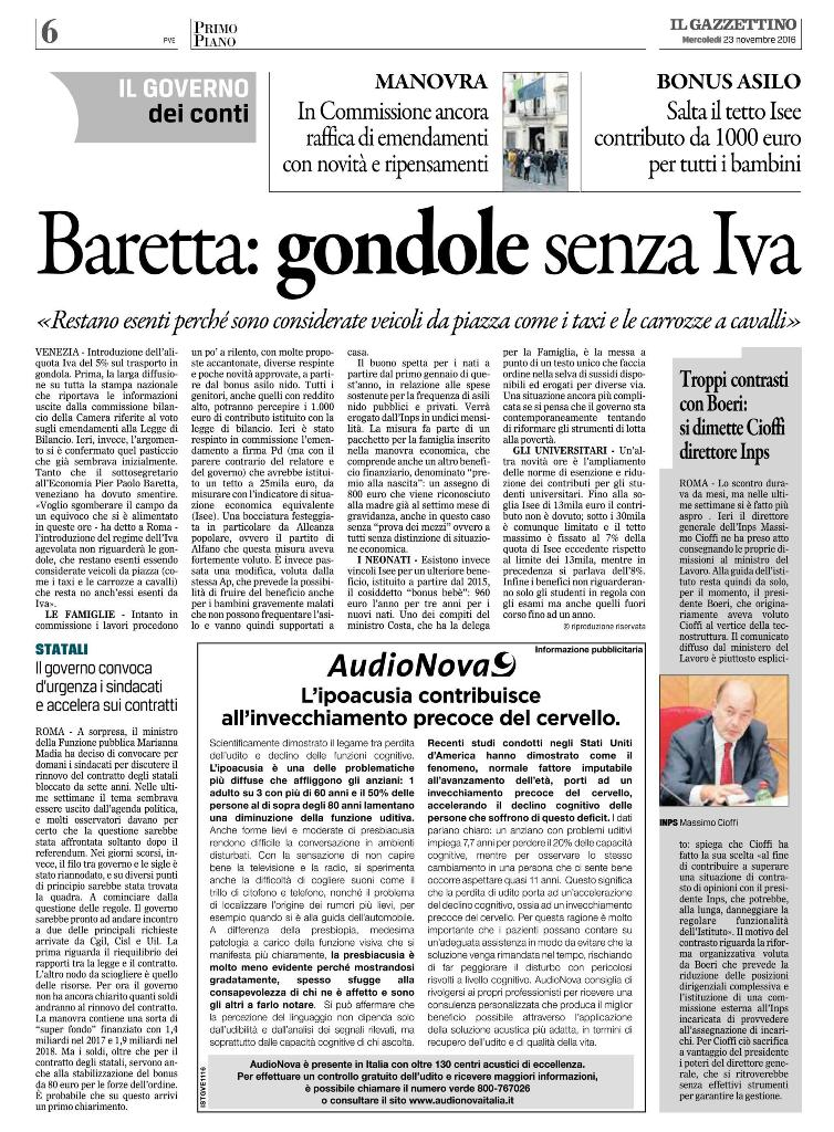 baretta-gondole